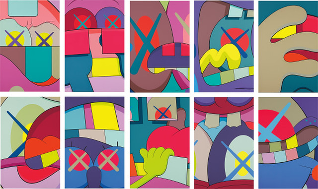 KAWS, 'Ups and Downs', 2013, Lougher Contemporary