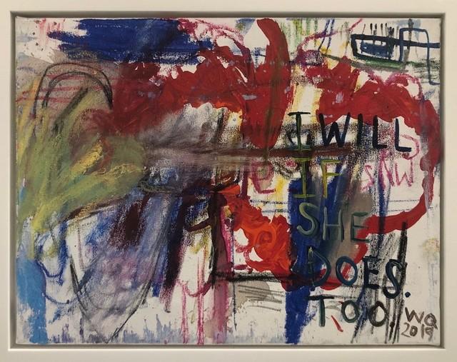 , 'I Will If She Does,' 2019, AB Gallery NY