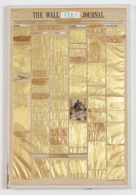 , 'The Wall Dream Journal,' 1991, Ronald Feldman Fine Arts