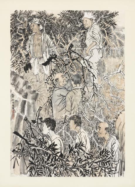 , 'The loggers,' 2015, Zeno X Gallery