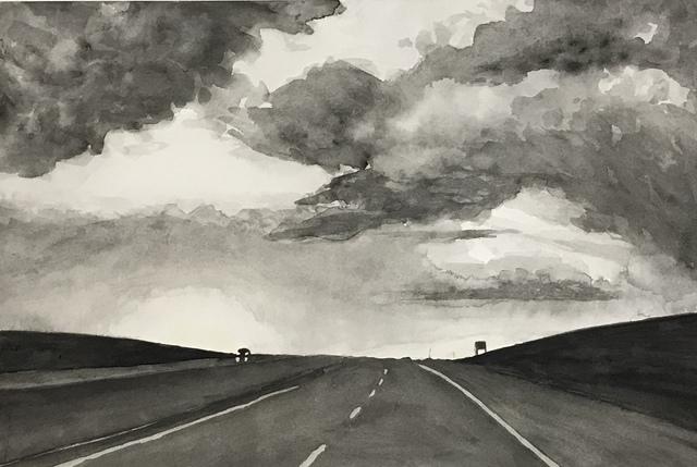 Joshua Huyser, 'Highway Sunest', William Baczek Fine Arts