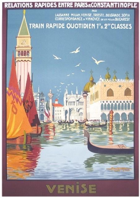 , 'Venise, Train Rapide Quotidien,' (Date unknown), ArtWise