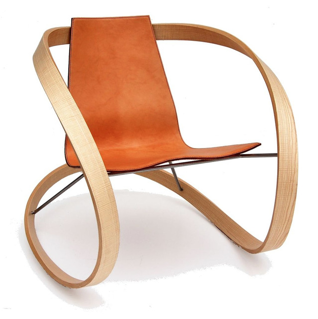 Katie Walker | Ribbon Rocking Chair (2006) | Available for Sale | Artsy