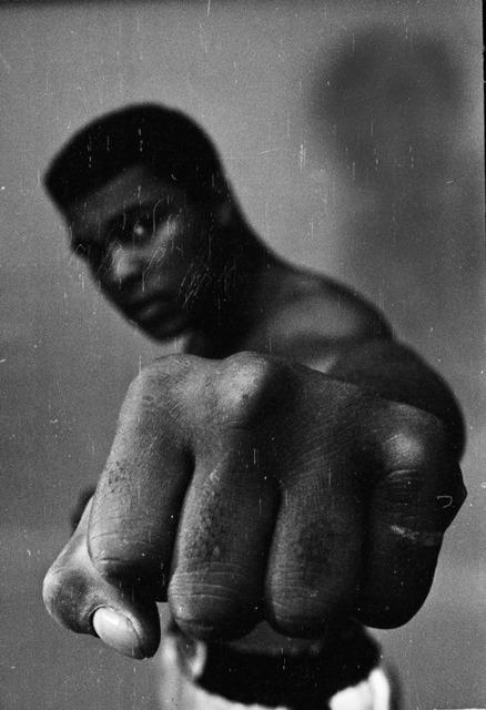 , 'Muhammad Ali, left fist,' 1966, Atlas Gallery