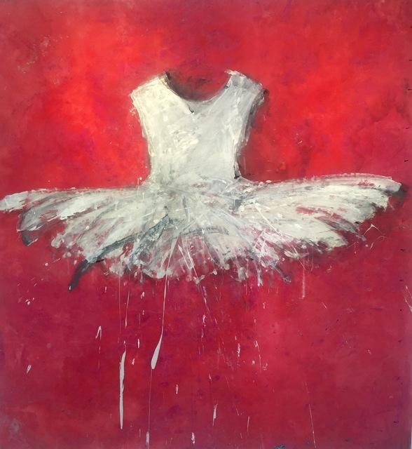 , 'White Palm Beach Dress,' 2017, Galleria Ca' d'Oro