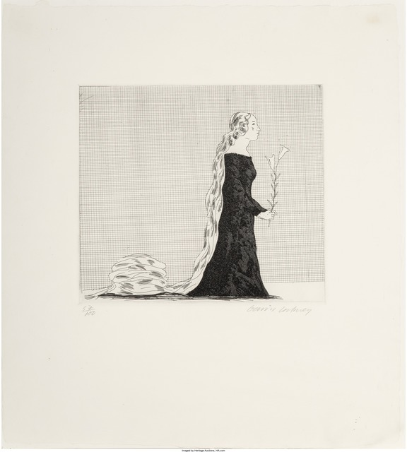 David Hockney, 'The Older Rapunzel (from Six Fairy Tales)', 1969, Heritage Auctions