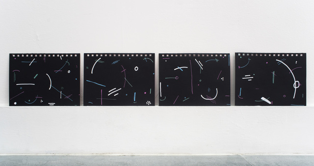 , 'quartet choreography ,' 2018, Rubber Factory
