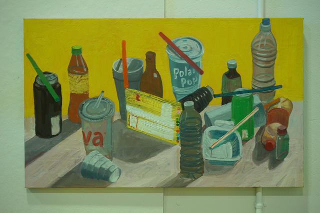 , 'Seven Straws and Objects,' 2018, Mindy Solomon Gallery