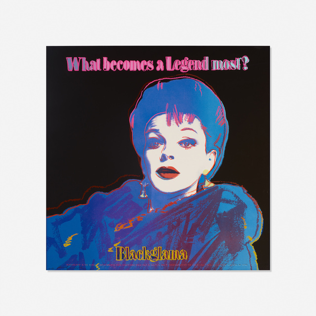Andy Warhol, 'Blackglama (Judy Garland) from the Ads portfolio', 1985, Rago
