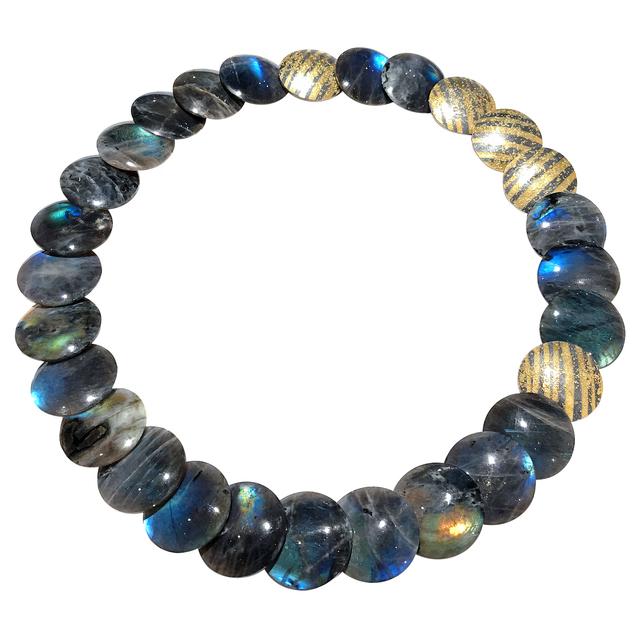, 'Spectrolite Diamond Disc Necklace,' 2014, Szor Collections