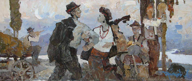 , 'Summer Evening,' 2006, Paul Scott Gallery & galleryrussia.com