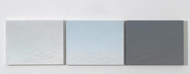, 'Wave #9, 10, 11,' 2004-2005, Soluna Fine Art