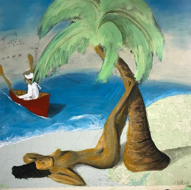 , 'Tree Hugger,' 2017, galerie 103