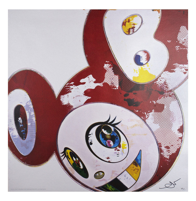 Takashi Murakami, 'And Then x6 RED: The Polke Method', 2013, Climate Mobilization Benefit Auction