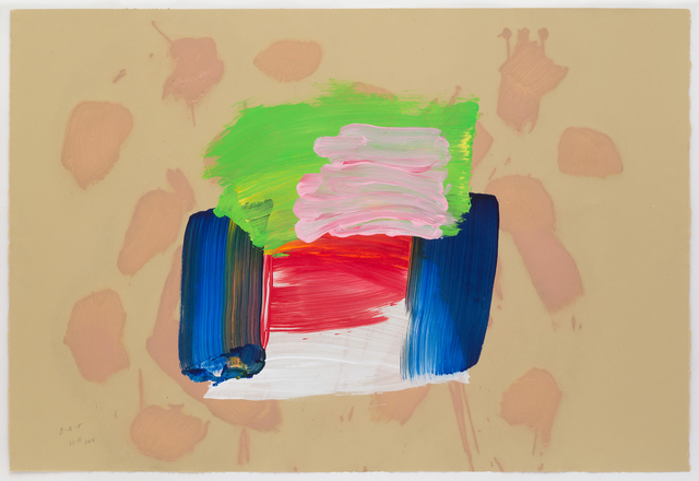 Howard Hodgkin, 'Ice Cream', 2015-2016, Cristea Roberts Gallery