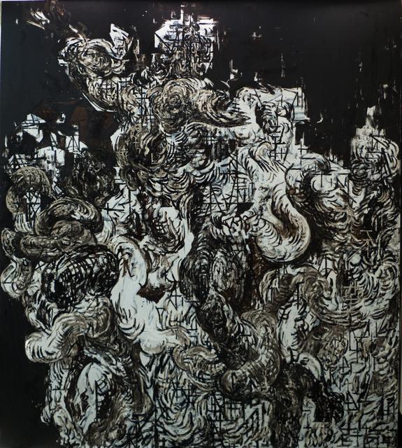Zelin Seah, 'Laocoon Version B', 2014, Painting, Oil and bitumen on linen, Taksu