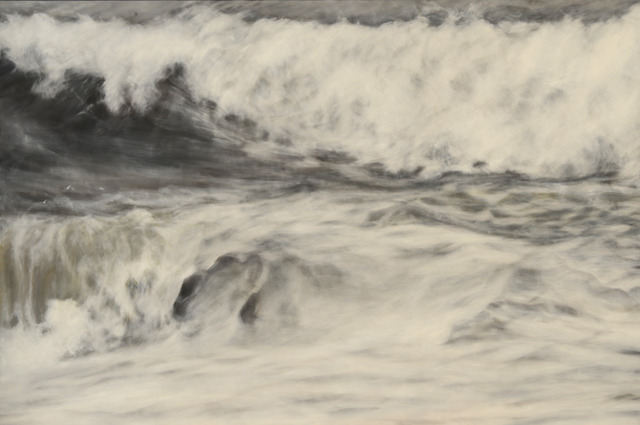 Clifford Smith, 'Gray Surf IV', 2013, Painting, Oil on linen, Gerald Peters Gallery