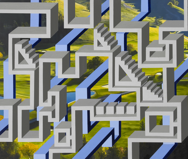 , 'Green Green Grass 4,' 2014, Parkview Green Art