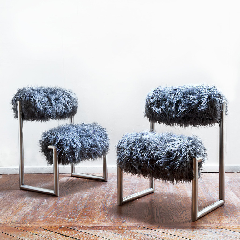 Pair of Due Piu Chairs