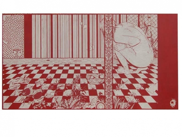 , 'Muse in Studio,' 2008, Mark Moore Fine Art