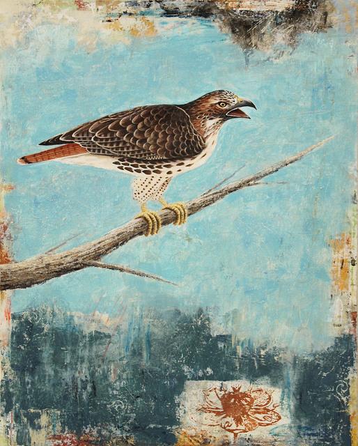 , 'Red-Tail Hawk,' 2017, Patricia Rovzar Gallery