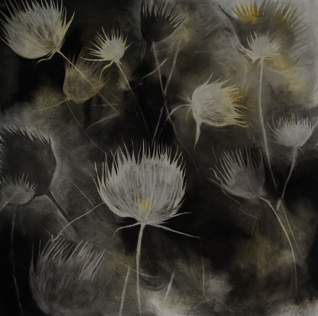 , 'Madera Canyon Cycle - Winter Thistles, 1/2015,' 2015, Octavia Art Gallery