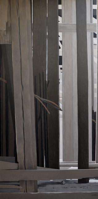 , 'Building 1,' 2017, al markhiya gallery
