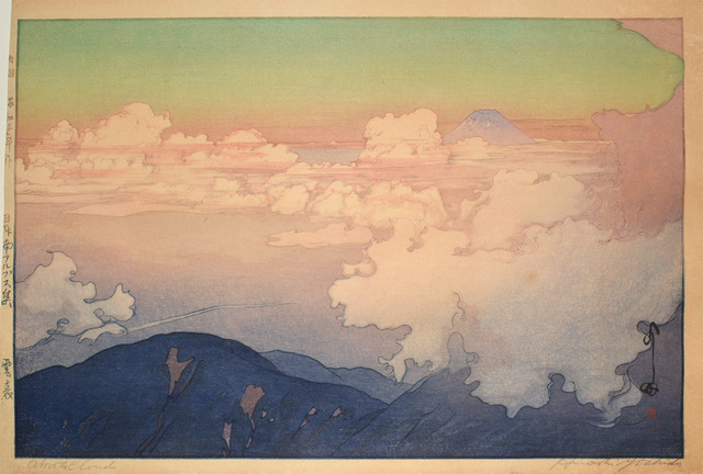 , 'Above the Clouds,' 1928, Ronin Gallery