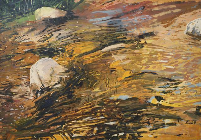 , 'Stream Near Cundiyo: Rocks and Water #2,' , David Richard Gallery