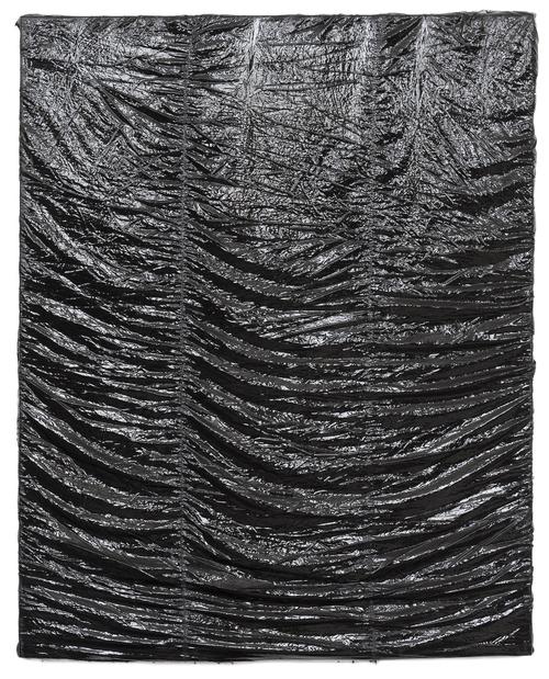 , 'Parachute Painting #30,' 2015, Galerie Clemens Gunzer
