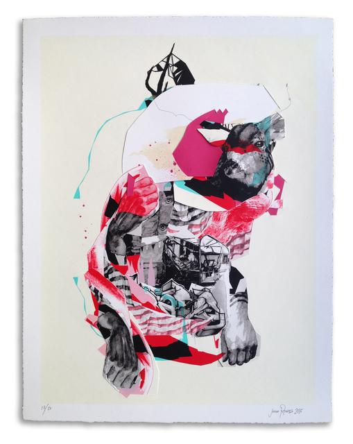 , ''Buckwild' Hand Embellished # 18,' 2015, StolenSpace Gallery