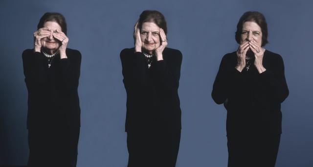 , 'Helen Thomas,' 2003, Cross Mackenzie Gallery