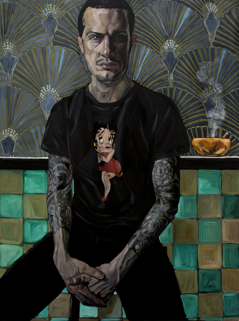 , 'Man With Orange Ashtray,' 2018, 33 Contemporary