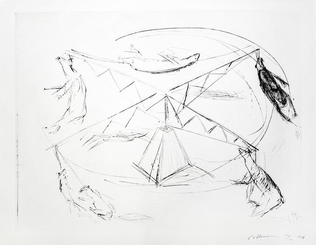 , 'Large Carousel, State I,' 1988, Brooke Alexander, Inc.