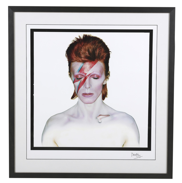 Brian Duffy, 'David Bowie, Aladdin Sane (Closed Eyes)', 1973, Chiswick Auctions
