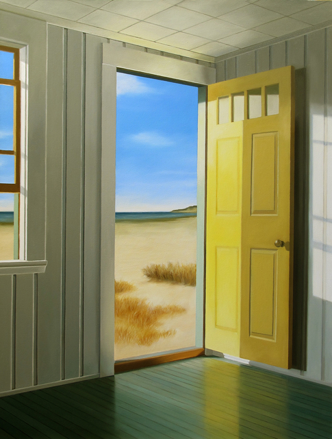 , 'Yellow Door,' , Clark Gallery