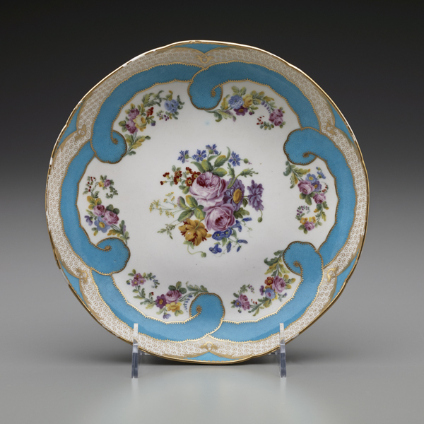 , 'Two Round Fruit Dishes (Part of a Dessert Service),' 1782, The Frick Collection