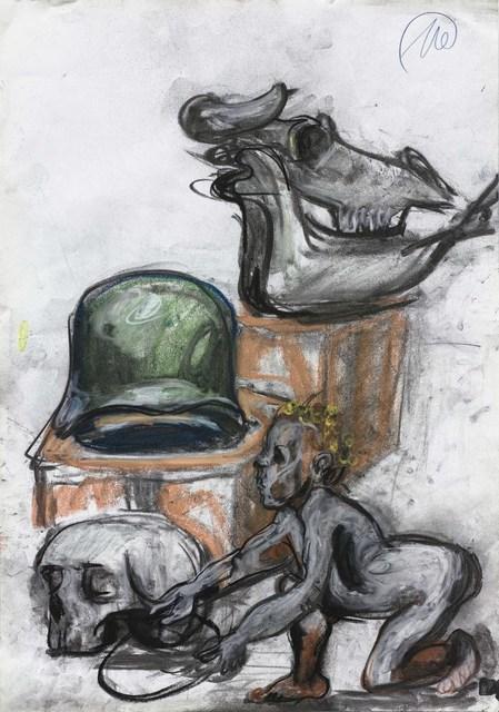 Markus Lüpertz, 'Ohne Titel (Untitled) ', 2014, Suzanne Tarasieve