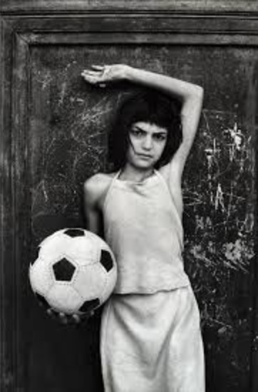 , 'The girl with the ball, Palermo,' 1981, ILEX Gallery