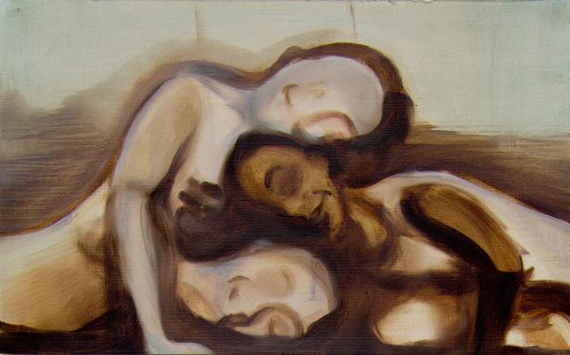 , 'Untitled (Dancing Girls 2),' 2018, James Freeman Gallery