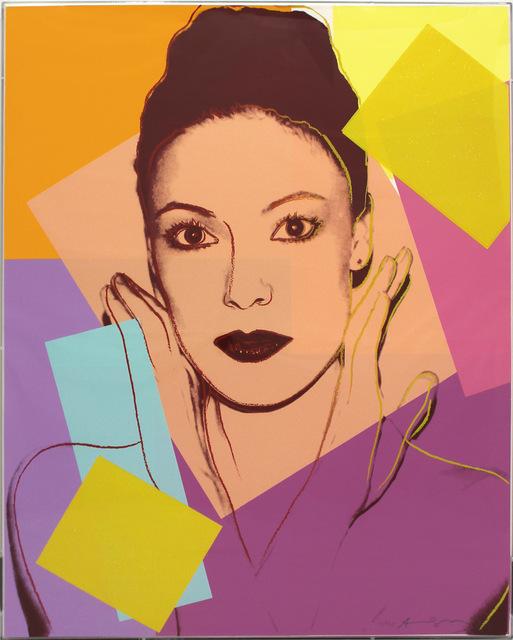 Andy Warhol, 'Karen Kain (FS II.236)', 1980, Print, Screenprint with Diamond Dust on Lenox Museum Board., Revolver Gallery