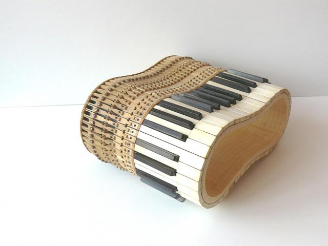 , 'Infinite keyboard,' 2012, Faur Zsofi Gallery