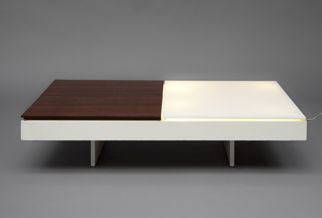 , 'Pair of illuminated low tables,' 1959, Galerie Pascal Cuisinier