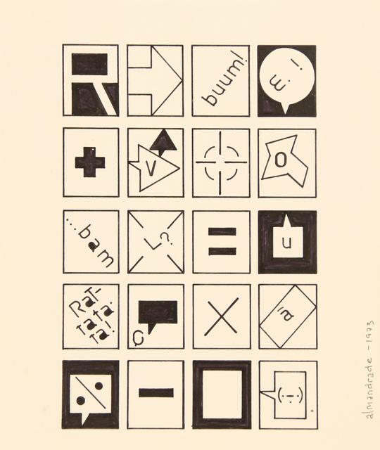 , 'No Title,' 1973, Roberto Alban Galeria de Arte
