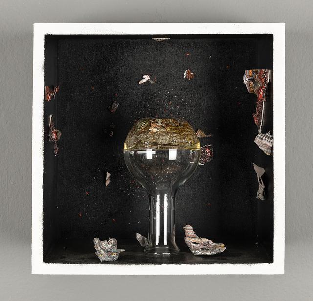 , 'Galaxia P437- 2025, Instituto Arte y Maravillas,' 2018, Salón Comunal