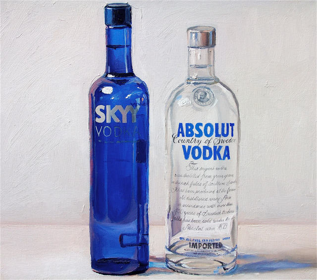 , 'Pink and Blue (Vodka),' , Rosenthal Fine Art