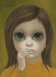 Portrait of a young crying girl