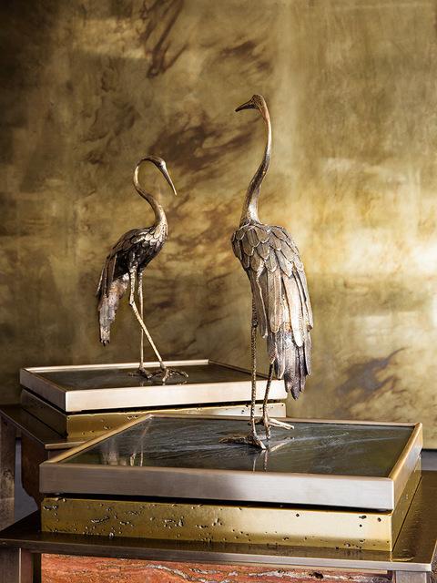 , 'Heron I & II,' 2017, Gianluca Pacchioni