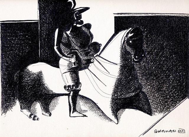 , 'Warrior on Horseback,' 1932, Forum Gallery