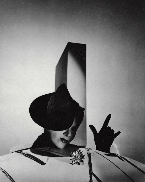 """, '""""I Love You"""", Lisa Fonssagrives with Hat by Balenciaga and Gloves by Boucheron, Paris,' 1938, Staley-Wise Gallery"""